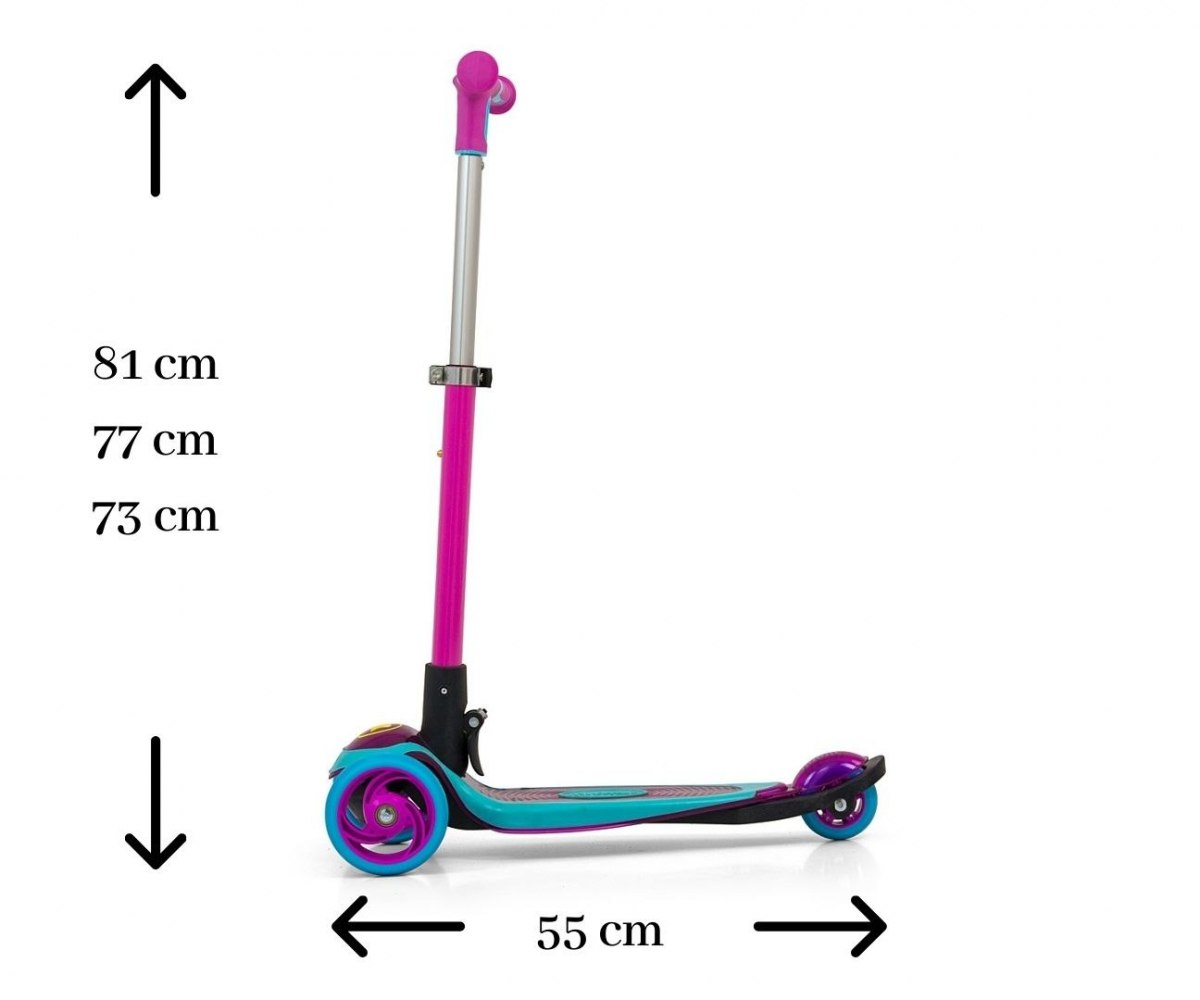 Milly Mally Scooter Micmax Blue