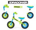 Milly Mally Rowerek Biegowy Dragon Air Green
